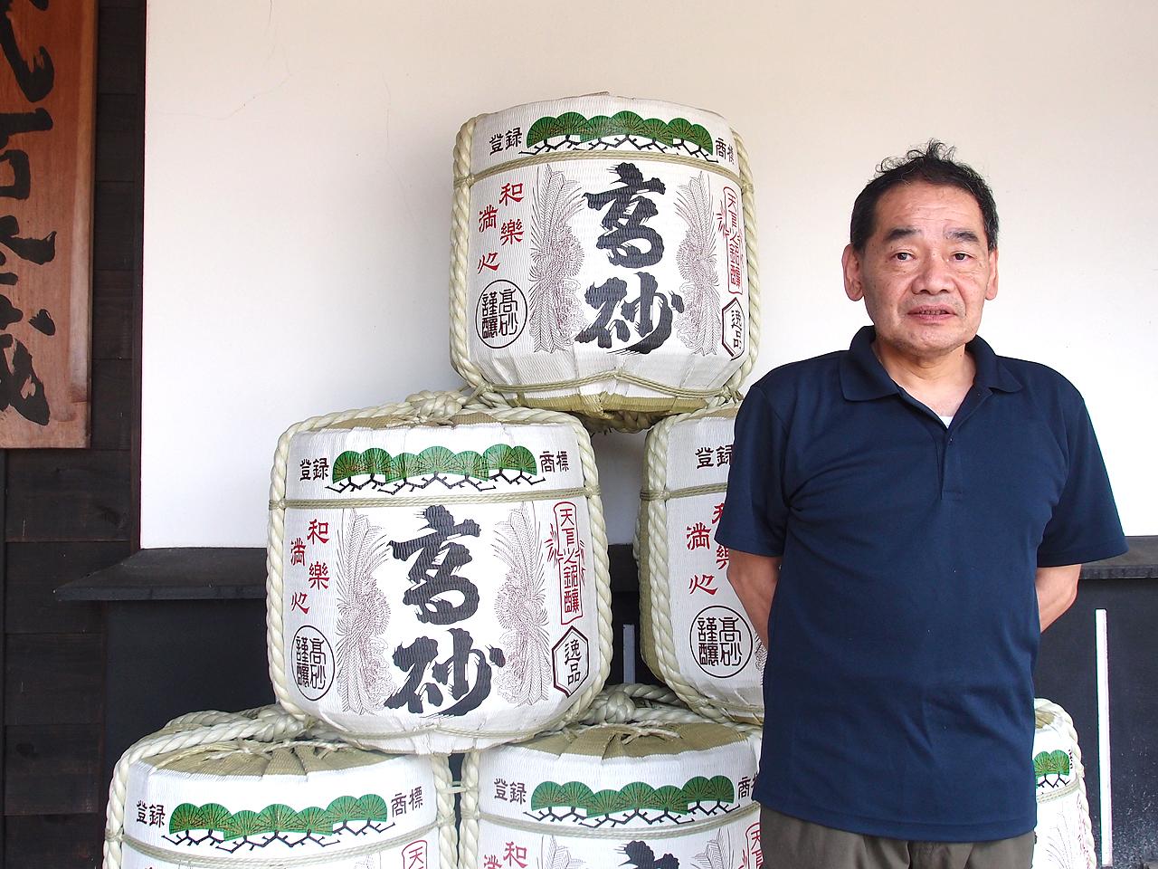 富士高砂酒造さん蔵見学